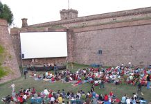 Open air cinema Sala Montjuic